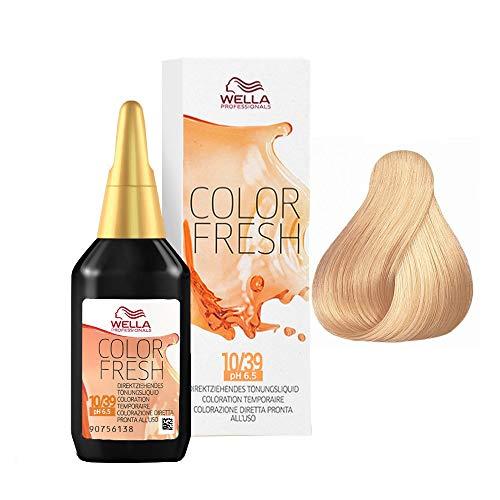 Wella Color Fresh 10/39, 75 ml