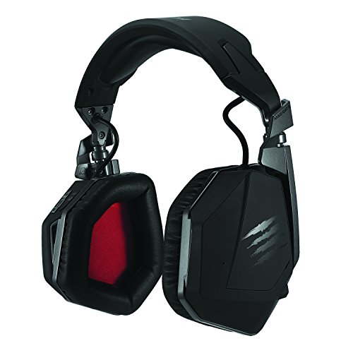 Mad Catz F.R.E.Q.9 Wireless Surround Headset with Bluetooth Technology...