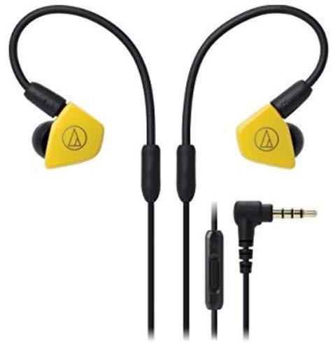 Audio-Technica ATH-LS50iSYL - Auriculares, color amarillo