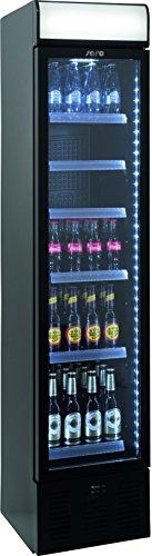 Extra schmaler Kühlschrank mit Umluftventilator Modell DK 134