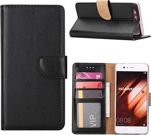 Huawei P10 Lite Portemonnee/Boektype hoesje Zwart