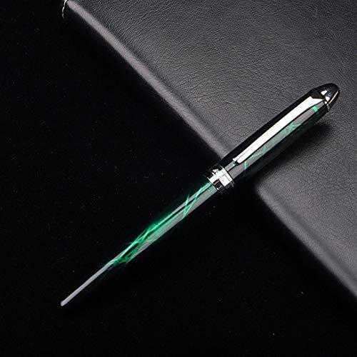 Bolígrafos 1pcs Eterno Hermosa Pluma de Visita Colorida línea de Pluma Regalo del Estudiante Perfecto Regalo (Color : C)
