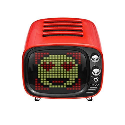 Mirage Altavoz Bluetooth Wireless Audio portátil al Aire Libre Pixel Art Led...
