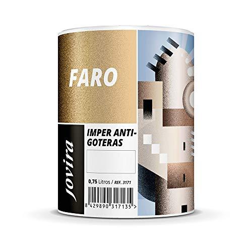 ANTIGOTERAS ELASTICA, pintura de terrazas evita filtraciones en todo tipo de cubiertas y terrazas. (750ML, ROJO)