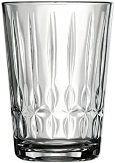Pasabahce Glass Nergis Short Glass 6 Pieces, Clear