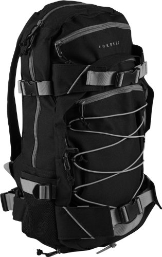 Forvert Ice Louis Rucksack, Volumen ca. 20L, Black Grey