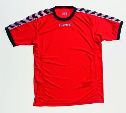 hummel Kinder T-Shirt Still Authentic Trikot, rot / schwarz, 176 ( 16 ), 03-334-3081