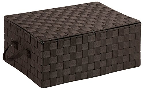 Honey-Can-Do OFC-03704 Double Woven Storage Chest Box