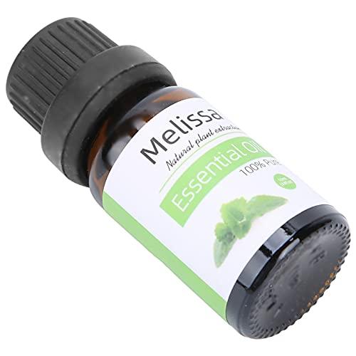 Aceite esencial natural, 10 ml de aceite esencial con fragancia, para el cuidado de la piel, humidificador de aromaterapia, incienso, cardamomo, palmarosa, bálsamo de limón(Lemon Balm)