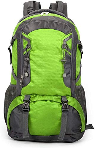 GAOFQ L Camping Trekking Backpack, Backpack Waterproof Travel Backpack, Enough Storage Space for Outdoor Equipment, Suitable for Cycling, Hiking, Running, Skiing