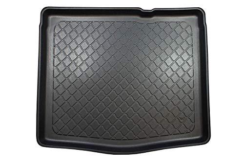 MTM Vasca Baule Tipo 5 Porte Hatchback dal 2015- Protezione Bagagliaio su Misura con Antiscivolo, Utilizzo: per Le Versioni Senza Ruota di scorta, cod. 7317
