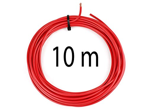 KFZ Universalkabel - FLRY Typ B - 4mm² - Plusleitung - Rot 10 Meter ( 1,09 € pro m )