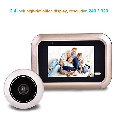 Richer-R Digitaler Türspion, HD Display Türspion-Kamera Weitwinkel 145 ° Türviewer,Überwachungskamera Digital Foto Anti-Dieb Türkamera für Türstärke von 35-110mm