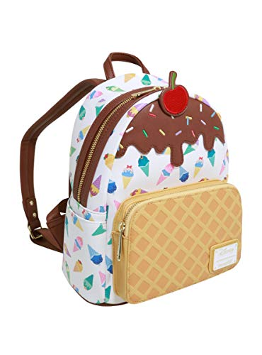 Disney Princess - Ice Cream - Loungefly Frauen Mini-Rucksack Multicolor