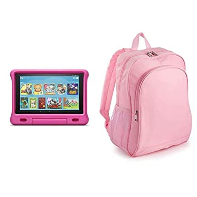 Fire HD 10 Kids Tablet 32GB Pink with Amazon Exclusive Kids Tablet Backpack, Pink by