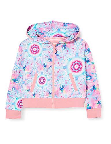 Desigual Mädchen Sweat_Georgia Sweatshirt, Rosa (Rosa Helado 3021), 164 (Herstellergröße: 13/14)