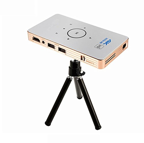 MTTLS Proiettori Full HD 3D Mini Video Proyector 1000 Lumens 854X480 Dpi Proiettore DLP Pico Per Android Home Theater Entertainment