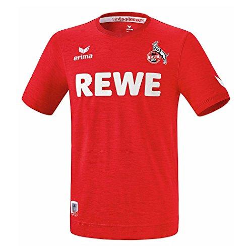 Erima 1.Fc Köln Trikot Away incl REWE 2016-2017 - red melange, Größe #:3XL