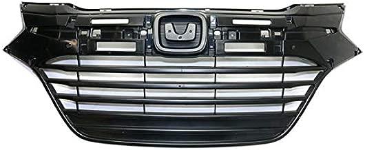 Koolzap For 16-18 HR-V HRV 1.8L Front Face Bar Grill Grille Assembly Black w/o Molding