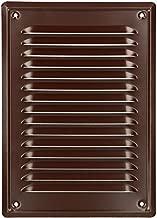 ventilation laqu/ée KOTARBAU Grille da/ération 165 x 165 mm avec vis brun grille de protection contre la corrosion