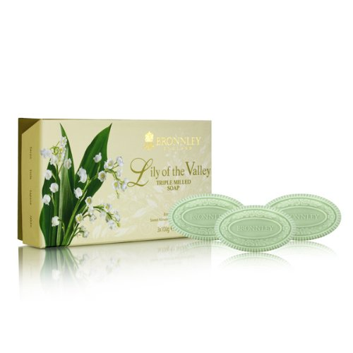 Bronnley Lily of the Valley Triple Milled Fine English Soap 100g