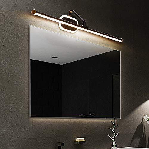 Lankouli Wandleuchte Led Bad Waschtisch Spiegel Wandleuchte Montiert Industrie Schlafzimmer Make-Up Wandleuchte Licht 0,6-0,8 Mt