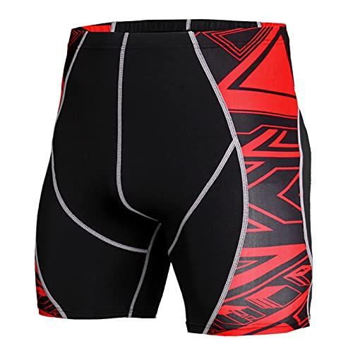 ZYOONG Traje deportivo de compresión para hombre, ropa deportiva, manga corta, para correr, correr, fitness, color KD 53, talla L: