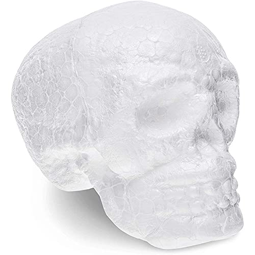Foam Skulls for Day of the Dead Crafts, DIY Decor (4 In, 12 Pack)