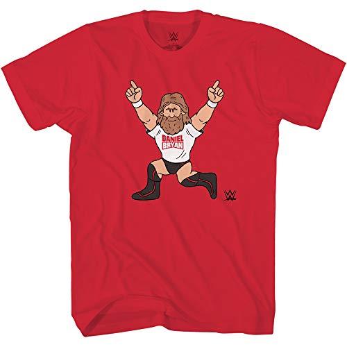 WWE Camiseta de Superstar Daniel Bryan con diseño de campeón del mundo - rojo -...