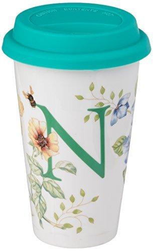 Lenox Butterfly Meadow Thermal Travel Mug, N by Lenox