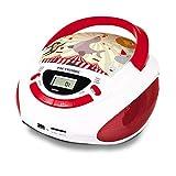 Metronic 477145 Radio Lecteur CD Enfant Circus avec Port USB/SD/AUX-IN  - Rouge et...
