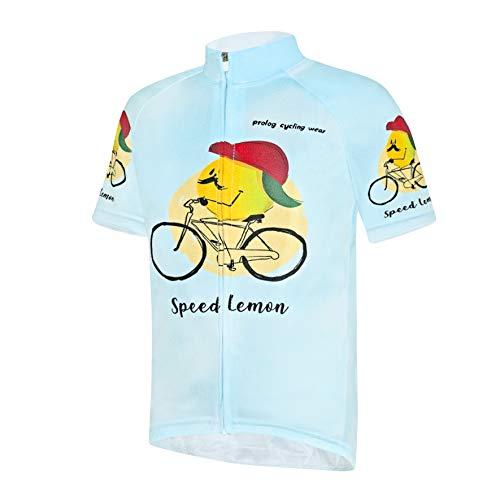 prolog cycling wear Radtrikot Jungen Fahrradtrikot Kinder atmungsaktiv, schnelltrocknend, Größe 122, 128. 134, 140, 146, 152, 158