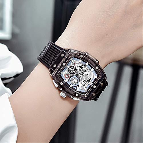 Miwaimao Richard Mille Mechanische Uhr Uhren Herren Top Ten Marken Weinfass Typ Hohl Großes Zifferblatt Weibliche Uhr Großer Name