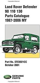 Land Rover Defender Parts Catalogue 90/110/130, 1987-2006