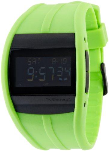 Vestal CRU008 - Reloj de Mujer de Cuarzo, Correa de Caucho Color Verde