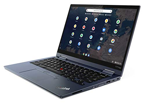 Lenovo ThinkPad C13 Yoga Chromebook Laptop with 13.3' FHD Touchscreen, AMD Ryzen 5 Pro 3500C Processor, 128GB PCIe SSD, 8 GB DDR4 RAM, and Garaged USI Pen