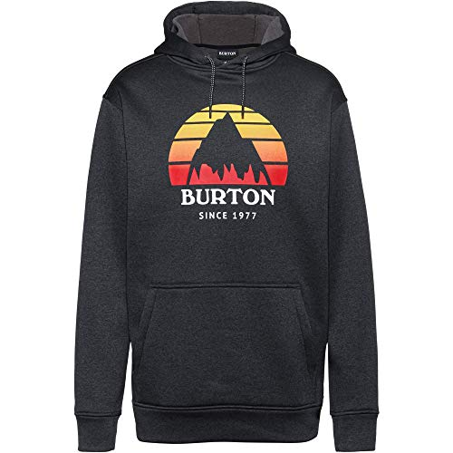 Burton Herren Oak Hoodie schwarz M