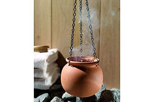 Karibu Aromapot voor opgietmiddelen op de sauna-oven (46694)