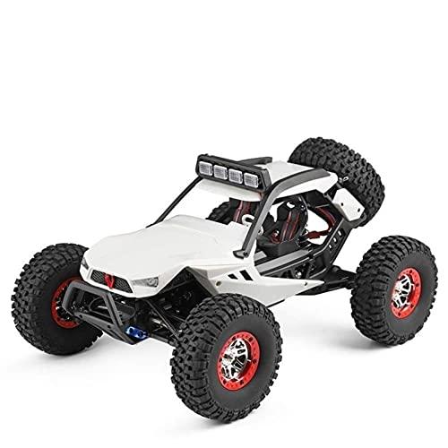 4 ruedas tracción fuera del vehículo con control remoto Buggy, 1:12 Coche de escalada de alta velocidad vehículo de juguete eléctrico Juegos al aire libre de alto rendimiento 4+ Play para niños adulto