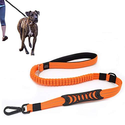 Hond Leads Hondenriem Hond Veiligheidsgordels Voor Auto Harness Hond Leidt Slip Touw Dog Seat Riem Bevestiging Hond Leidt Sterke orange