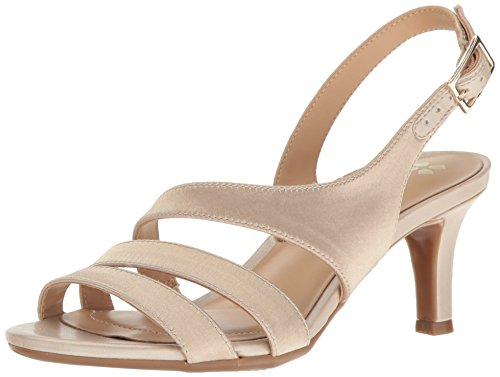 Naturalizer womens Taimi Dress Sandal, Champagne, 6.5 US