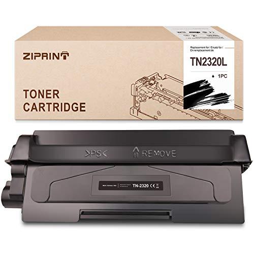 ZipRINT TN 2320 - Toner XXL compatibile con Brother TN 2320 TN-2310 per Brother MFC-L2700DW HL-l2310d HL-L2340DW HL-L2300 HL-L2360DN DCP-L2500D DCP-L2540DN MFC-L2720DW L2740DW P-L256. 0DW.