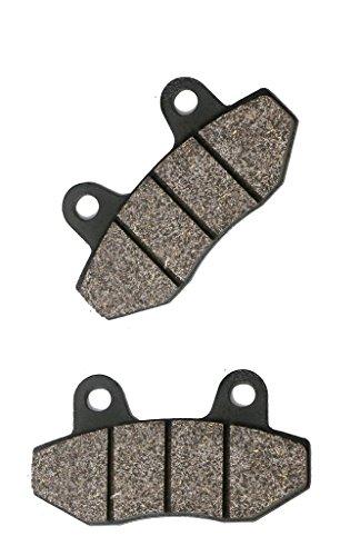 Rückseite Disc Bremsbeläge Carbon fit E-TROPOLIS(ELECTRIC SCOOTERS) Street Bike Retro 13 14 15 2013 2014 2015 1 Pair(2 Pads)