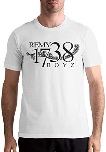 Fetty Wap-1738 Men Classic Short Sleeve Music Band Shirts Black,White,6X-Large