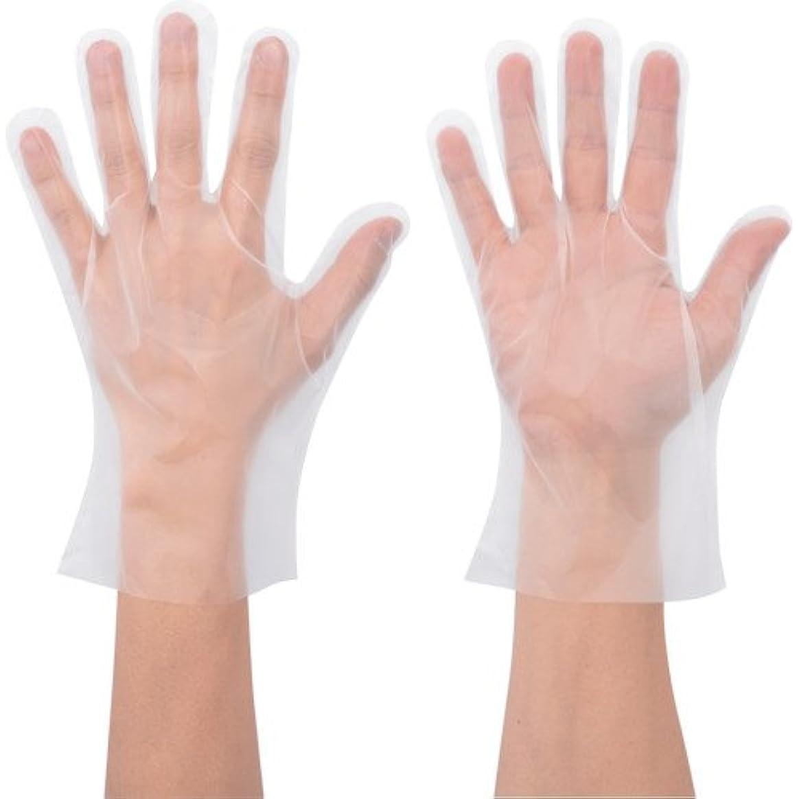 研磨剤アメリカアメリカショーワ No.826 ポリエチ手袋 Mサイズ 100枚入