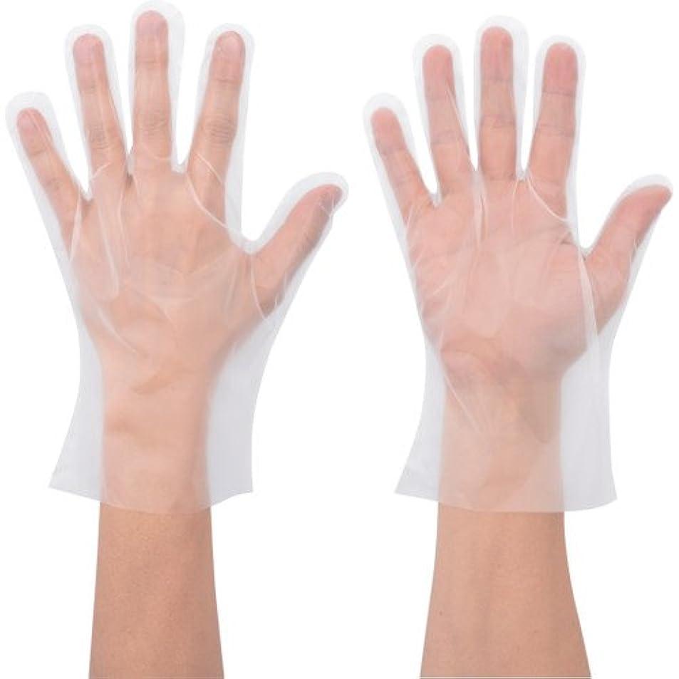 交渉するアレルギー性ファンタジーポリエチ手袋 No.826 100枚入 Lサイズ