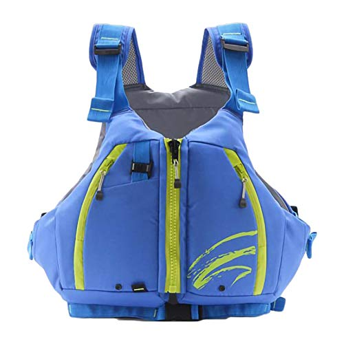 Boglia Chaleco de natación, Chaqueta de natación de PVC para Adultos, Traje de baño Flotante con Bolsa Impermeable, Protección contra choques para Deportes acuáticos