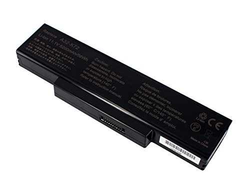 Power Smart® 5200 mAh 11,10 V Li-Ion Batterie 6 cellules pour Asus K73, K73E, K73S, K73JK, N71J, K73SD, K73SV, N71, N71JA N71JQ N71JV, N71 V N71VG N71VN, N71 V, N71YI, N73, N73G N73J N73JF, N73JG, N73JN N73JQ N73Q N73S, N73JQ, N73SD, N73SL N73SN