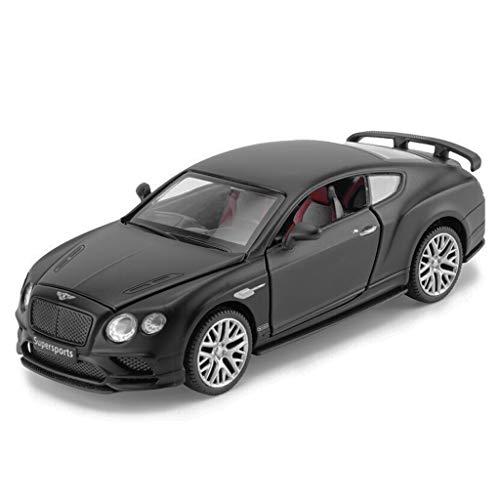 CHGDFQ Modelo de Coche Coche 1:32 Bentley Continental simulación de aleación de fundición de Juguetes Adornos de colección de Coches Deportivos joyería 14.5x5.5x4.5 cm