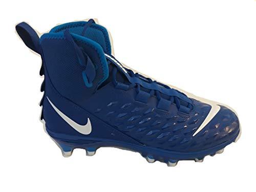 Nike Force Savage Varsity 2 Football Cleats Game Royal White Size 9.5